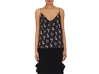 Opening Ceremony Women's Floral Crepe Cami Black