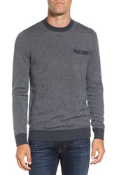 Travis Mathew Men's 'Wesley' Wool And Cashmere Pocket Crewneck Sweater