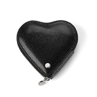 Aspinal Of London Heart Coin Purse Jet