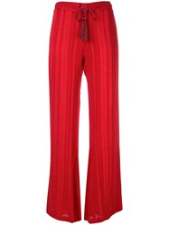 Zeus Dione Flared Trousers