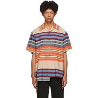 Wooyoungmi Multicolor Asymmetric Striped Shirt