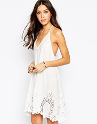 Free People Livin Slip Dress Alabaster Cream