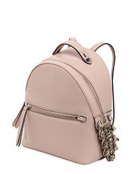 Fendi Mini Leather Backpack W Crystals