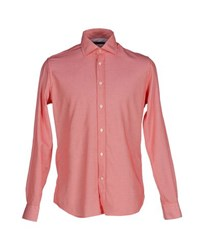 Siviglia Shirts Shirts Men Red