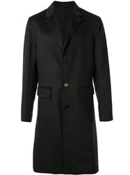 Ck Calvin Klein Tailored Single Breasted Coat Grey