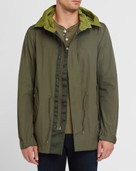 Scotch And Soda Khaki Summer Cotton Parka