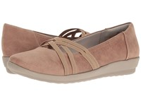 Easy Spirit Aubree Taupe Fabric Women's Shoes