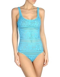 Fisico Cristina Ferrari One Piece Suits Azure