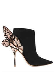 Sophia Webster 100Mm Chiara Wing Suede Ankle Boots