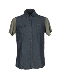 Messagerie Denim Shirts Blue