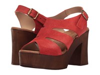 Eric Michael Sienna Red Women's Shoes