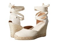 Soludos Tall Wedge Linen Blush Women's Wedge Shoes Pink