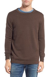 Men's Original Paperbacks 'San Francisco' Crewneck Sweater Brazil Nut