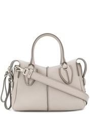 Tod's D Styling Mini Tote Grey