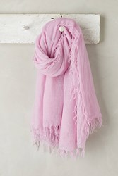 Anthropologie Lille Cashmere Scarf Lavender