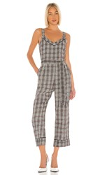Heartloom Bailey Jumpsuit In Gray. Check