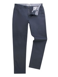 Racing Green Baxter Flat Front Twill Chino Navy