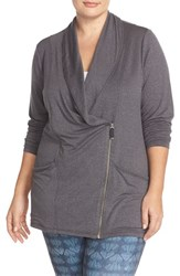 Plus Size Women's Marika Curves 'Vernon' Cowl Neck Jacket