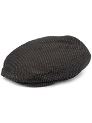 Dolce And Gabbana Jacquard Flat Cap Black