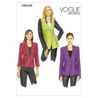 Vogue Women's Blazer Sewing Pattern 9039