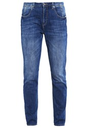 M A C Mac Sexy Relaxed Fit Jeans Mid Blue Cool Wash Blue Denim