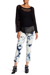 Zadig And Voltaire Eva Tie Dye Jean Blue
