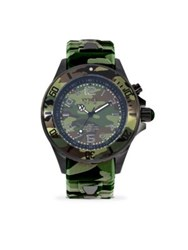 Kyboe Camo Stainless Steel Strap Watch Camouflage