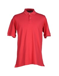 Kiton Topwear Polo Shirts Men Red