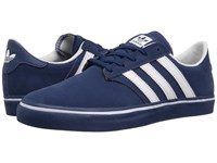 Adidas Seeley Premiere Mystery Blue White Mystery Blue Men's Skate Shoes