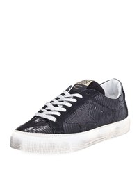 Golden Goose May Printed Platform Sneaker Black