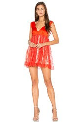 Alice Mccall Here I Am Dress Red