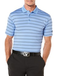 Callaway Performance Stripe Polo Blue