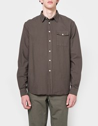 Hope Air Pocket Shirt Khaki Green