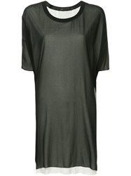 Cnc Costume National Tunic Dress Black