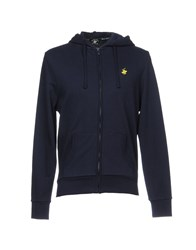 Beverly Hills Polo Club Topwear Sweatshirts Dark Blue