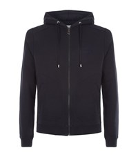 Versace Collection Medusa Embroidered Zip Sweater Male