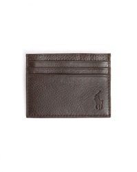 Polo Ralph Lauren Brown Leather Cardholder