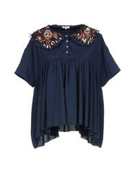 Manoush Blouses Slate Blue