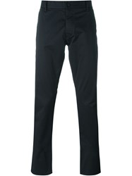 Armani Jeans Classic Chino Trousers Blue