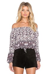 Auguste Gypsy Top White