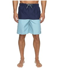Nike Core Split 9 Volley Shorts Midnight Navy Men's Swimwear Blue