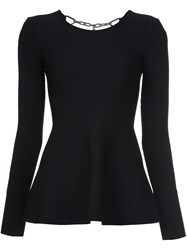 Alexander Wang Peplum Top Black