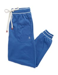 Original Penguin Striped Cuff Sweatpants True Blue