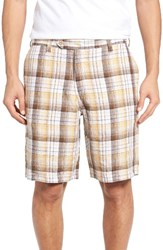 Tommy Bahama Men's Big And Tall Island Duo Reversible Linen Shorts