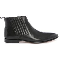 Billtornade Booster Smooth Black Leather Boots