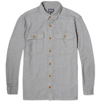 Patagonia Fjord Flannel Shirt Feather Grey
