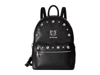Love Moschino Studs Backpack Black Backpack Bags