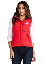 Canada Goose Freestyle Vest Red