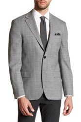 Ike Behar Long Sleeve Sport Coat Gray