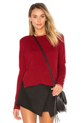 Autumn Cashmere Crew Neck Sweater Red
